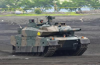自衛隊10型戦車