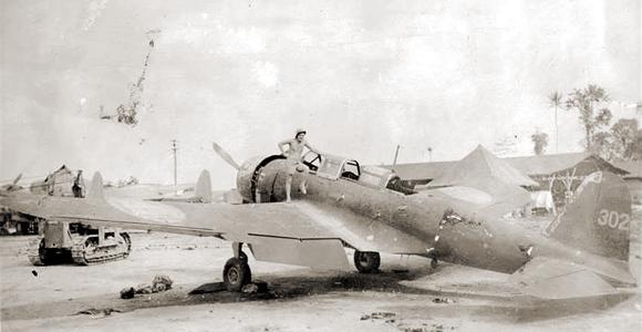 ジャキノットに空輸されたラバウル最後の97艦攻