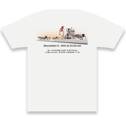 空母赤城戦闘機隊Tシャツ