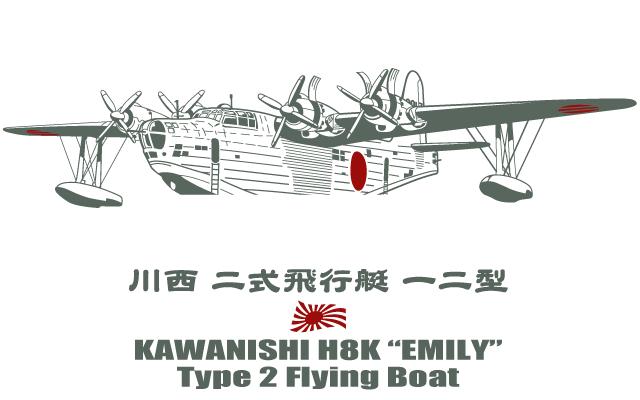 二式飛行艇デザイン