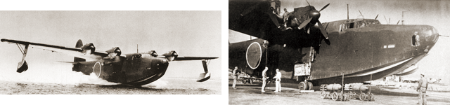 川西航空機「二式飛行艇」の雄姿