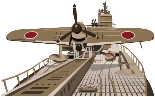 伊四〇〇型潜水艦の画像 p1_22