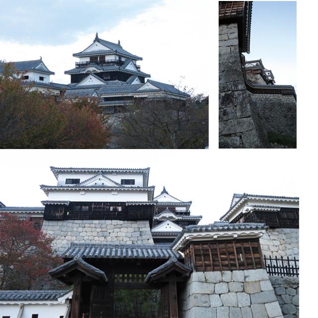 美しい松山城