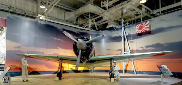 太平洋航空博物館の零戦21型