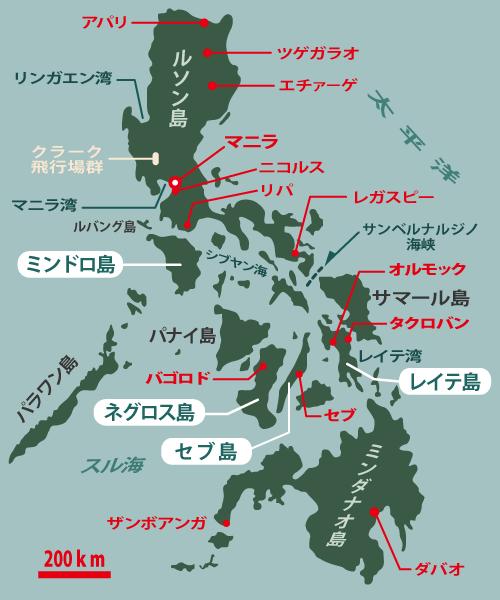 フィリピン航空決戦要図