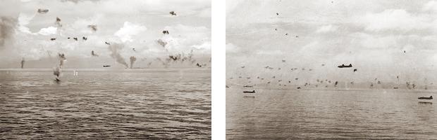 昭和17年8月8日、三沢空、4空によるガダルカナル雷撃