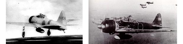 零戦の有名写真