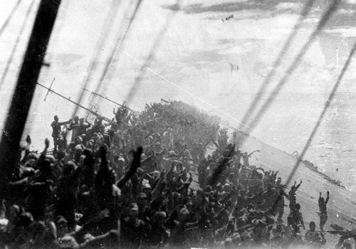 空母瑞鶴最期の万歳1944年10月25日